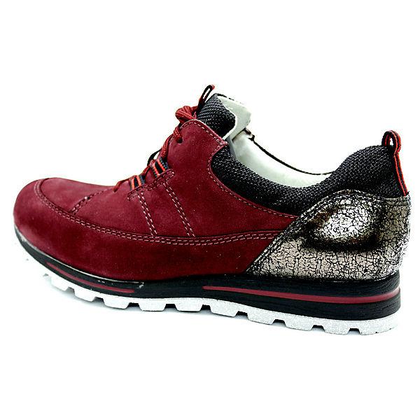 WALDLÄUFER, Klassische Halbschuhe, rot  Gute Qualität beliebte Schuhe