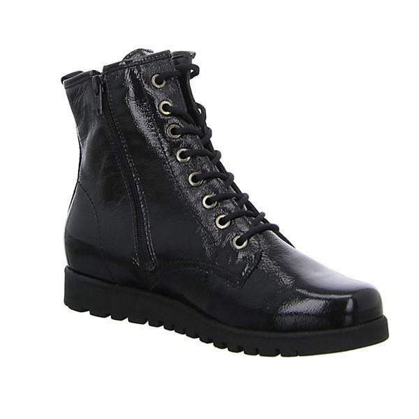 WALDLÄUFER, Schnürstiefeletten, schwarz  Gute Gute  Qualität beliebte Schuhe 5727b7