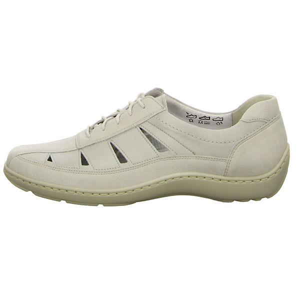 WALDLÄUFER, Komfort-Halbschuhe, weiß  Gute Qualität beliebte Schuhe