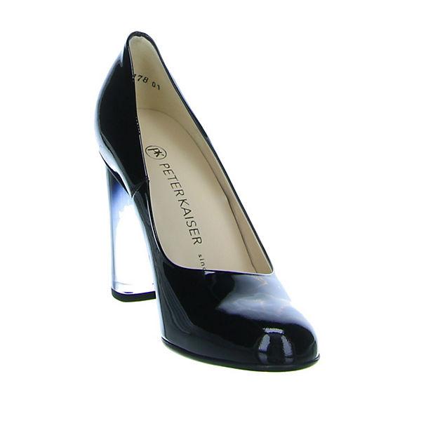 PETER KAISER, Gute Klassische Pumps, schwarz  Gute KAISER, Qualität beliebte Schuhe dbf8f0
