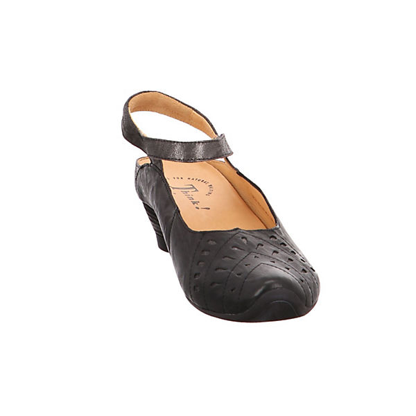 Think!, Sling-Pumps, beliebte schwarz  Gute Qualität beliebte Sling-Pumps, Schuhe 82f05b