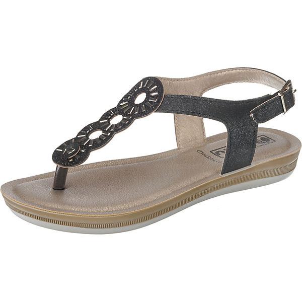 Sandalen INBLU schwarz Sandalen schwarz Klassische Klassische INBLU BA000006 BA000006 SBRq7