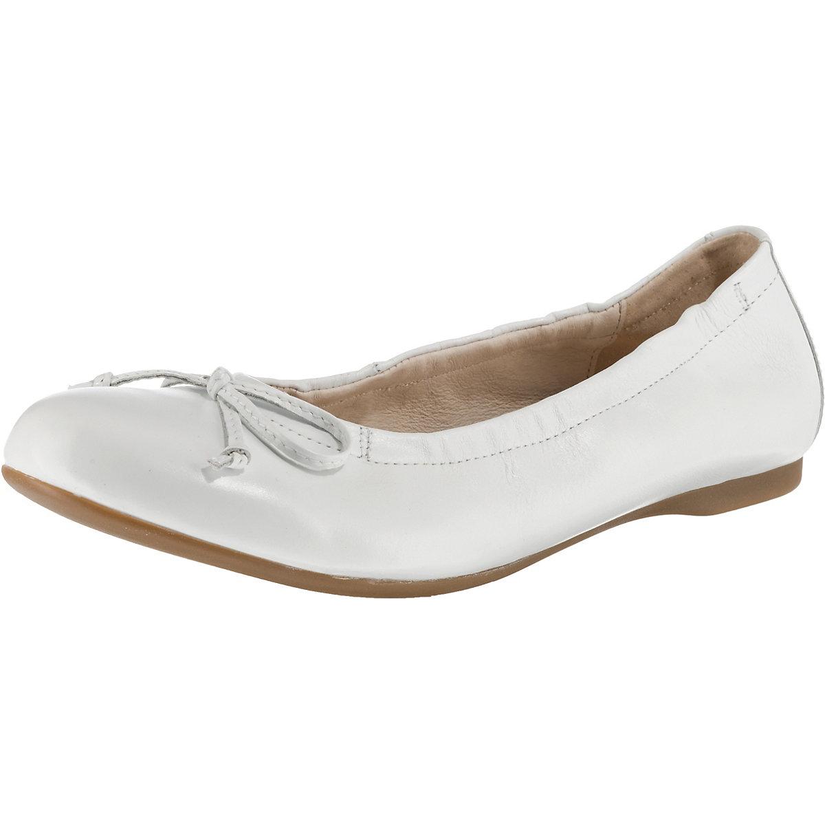 Gabor, Klassische Ballerinas, weiß