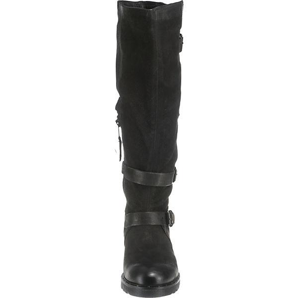 JOLANA & FENENA Klassische Stiefel beliebte schwarz  Gute Qualität beliebte Stiefel Schuhe fc3a8f