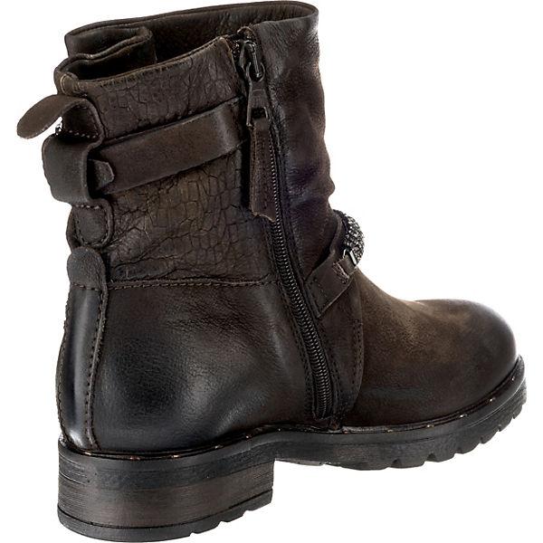 JOLANA & FENENA, Biker Boots, Boots, Boots, dunkelbraun   b14c68