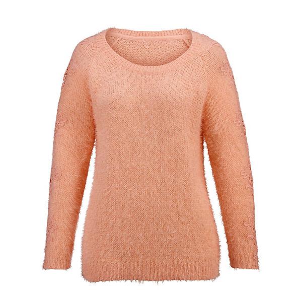 Paola Paola orange Pullover Pullover qq7w05r