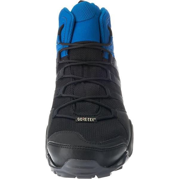 TERREX GTX schwarz kombi Trekkingstiefel adidas AX2R MID Performance Uwqx55z8