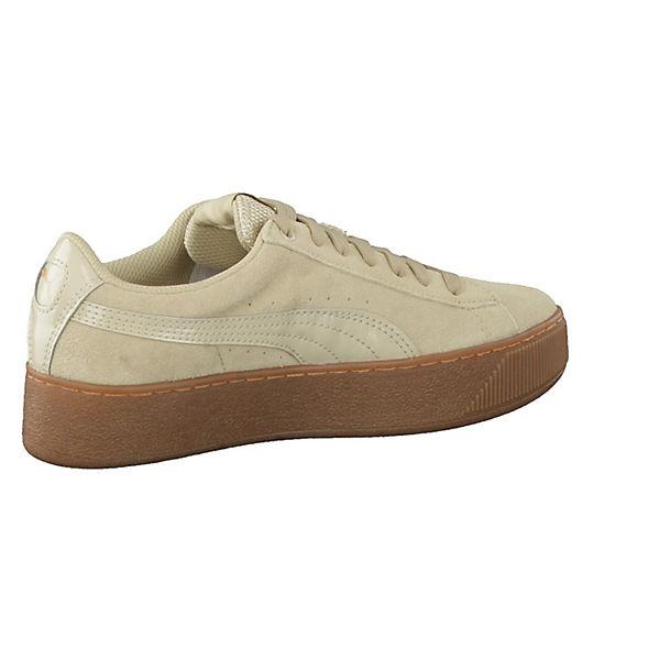 PUMA, Vikky Platform 363287-02 Turnschuhes Niedrig, Schuhe hellbraun Gute Qualität beliebte Schuhe Niedrig, 86b7f3