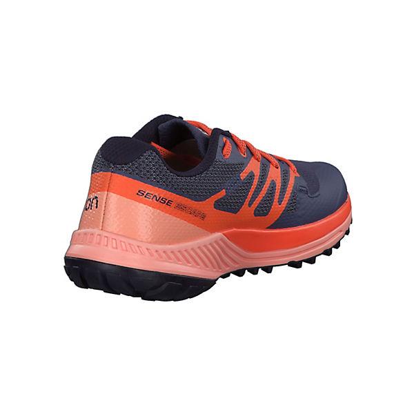 Salomon, Sense Escape W mit blau/orange Contagrip Außensohle 400922 Trailrunningschuhe, blau/orange mit  Gute Qualität beliebte Schuhe cf1ae0