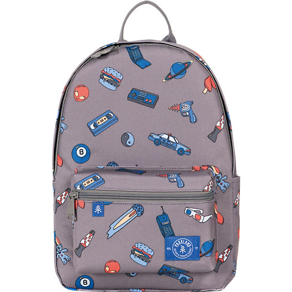 Kinderrucksack THE EDISON Patches Retro