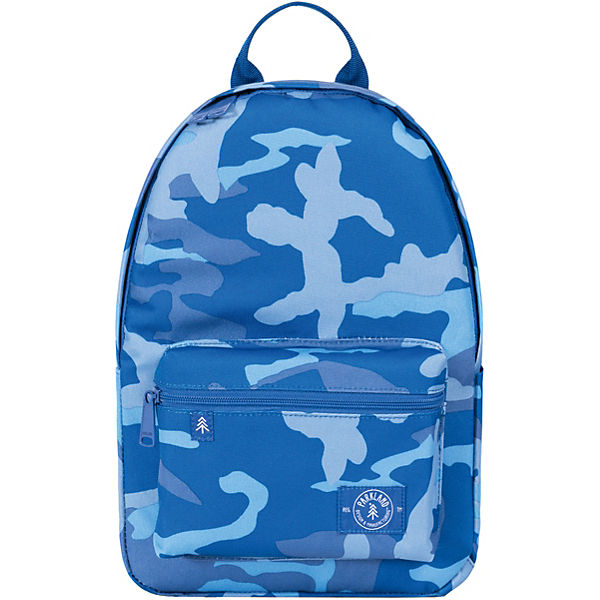 Kinderrucksack THE EDISON Woodland Camo Blue