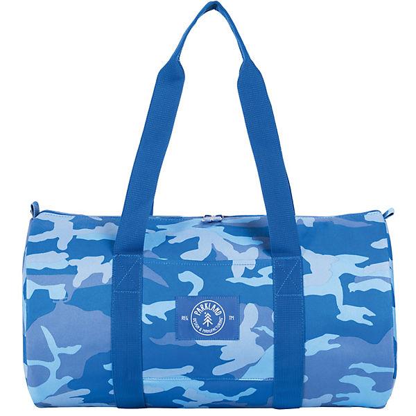 Sporttasche THE LOOKOUT Woodland Camo Blue