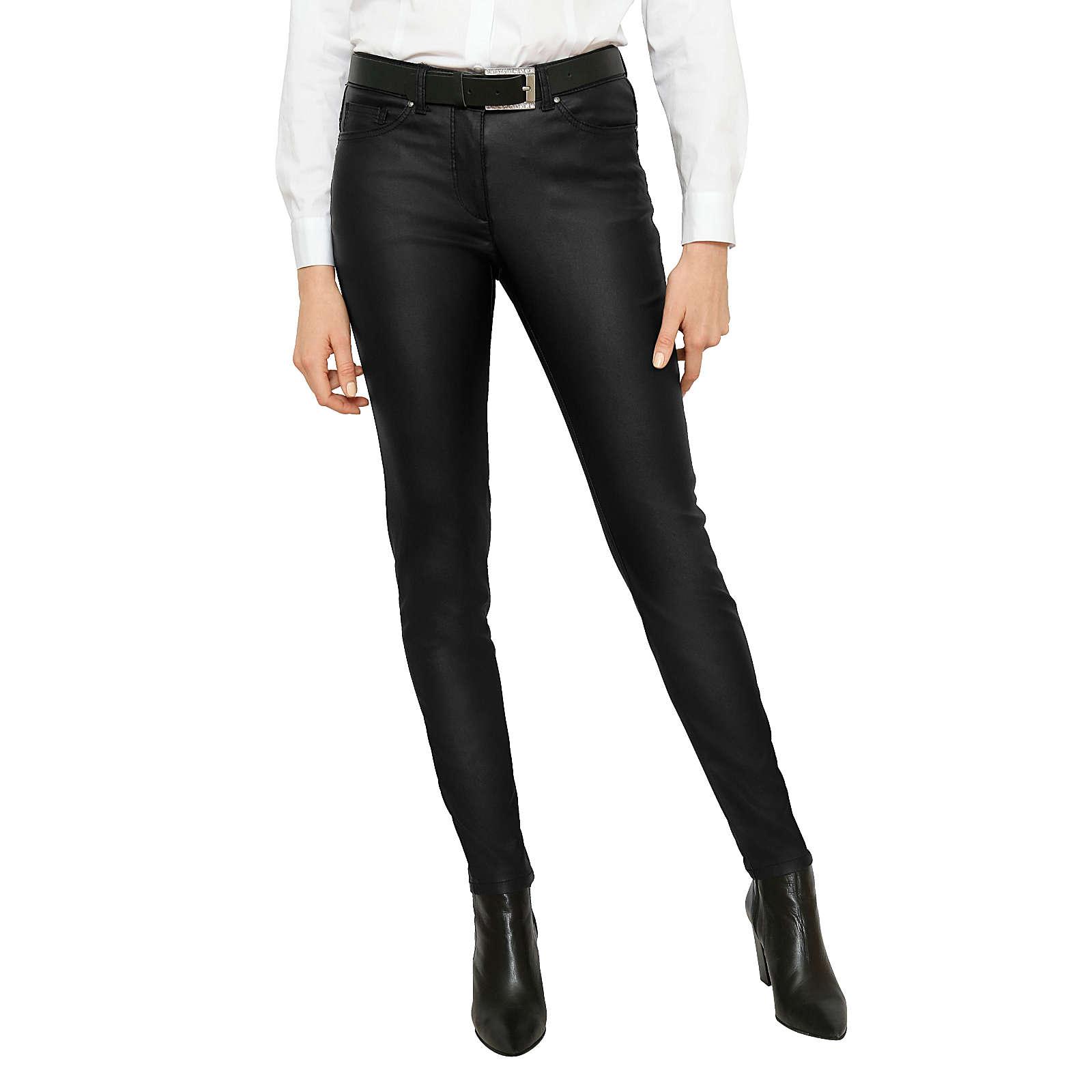 Amy Vermont Jeans schwarz Damen Gr. 38
