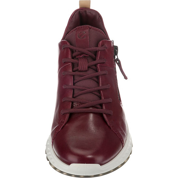 ecco,  ST.1  Sneakers Low, weinrot  ecco, Gute Qualität beliebte Schuhe adb6b5