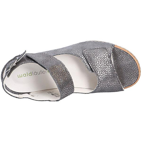 WALDLÄUFER HANILA Komfort Sandalen WALDLÄUFER grau grau WALDLÄUFER HANILA Komfort Sandalen 7tdZwdxqC