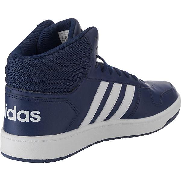 adidas Sport Sneakers Inspired, Hoops 2.0 Mid Sneakers Sport High, dunkelblau  Gute Qualität beliebte Schuhe 30f025