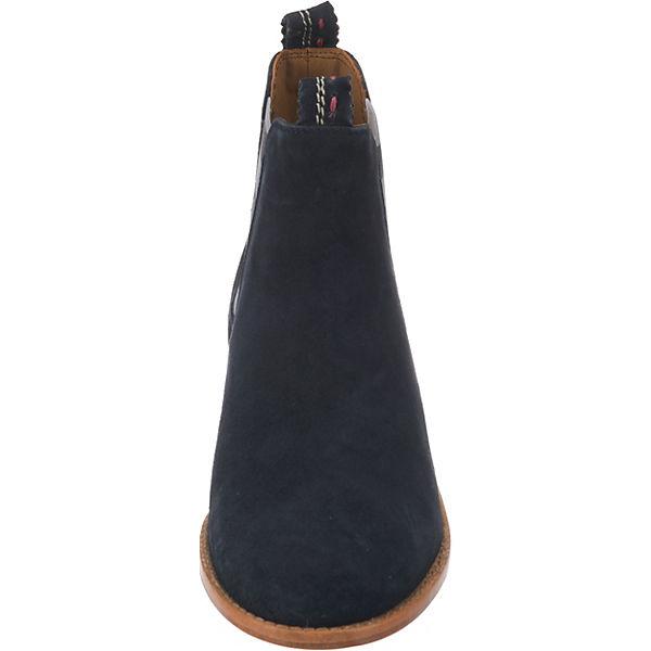 elastic Torrente stripes CRICKIT dunkelblau Chelsea Boots w58qddRY