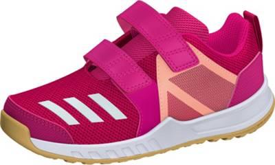 adidas Performance, Sportschuhe FORTAGYM CF K für Mädchen, pink