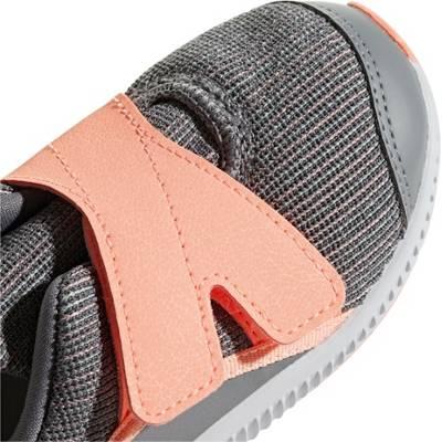 adidas Performance, Sportschuhe FortaRun X für Mädchen, grau