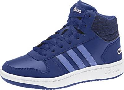 0Blau Sneakers Adidas Sport High 2 InspiredKinder Mid Hoops KclFJ1