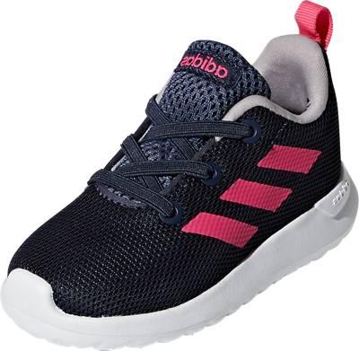 adidas Sport Inspired, Baby Sneakers Low LITE RACER CLN für Mädchen, dunkelblau