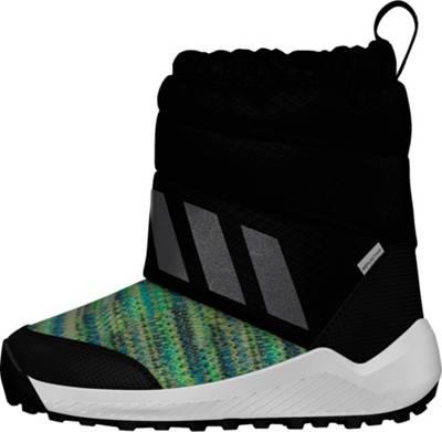 adidas Performance, Kinder Winterschuhe RAPIDASNOW, schwarzrot