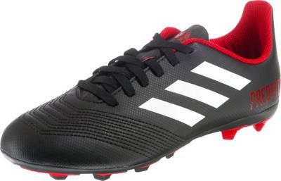 adidas Performance, Fußballschuhe PREDATOR 18.4 FxG für Jungen, rot