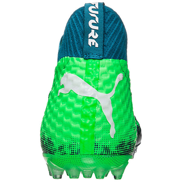 PUMA, Future 18.1 NETFIT MG Fußballschuhe, blau/grün