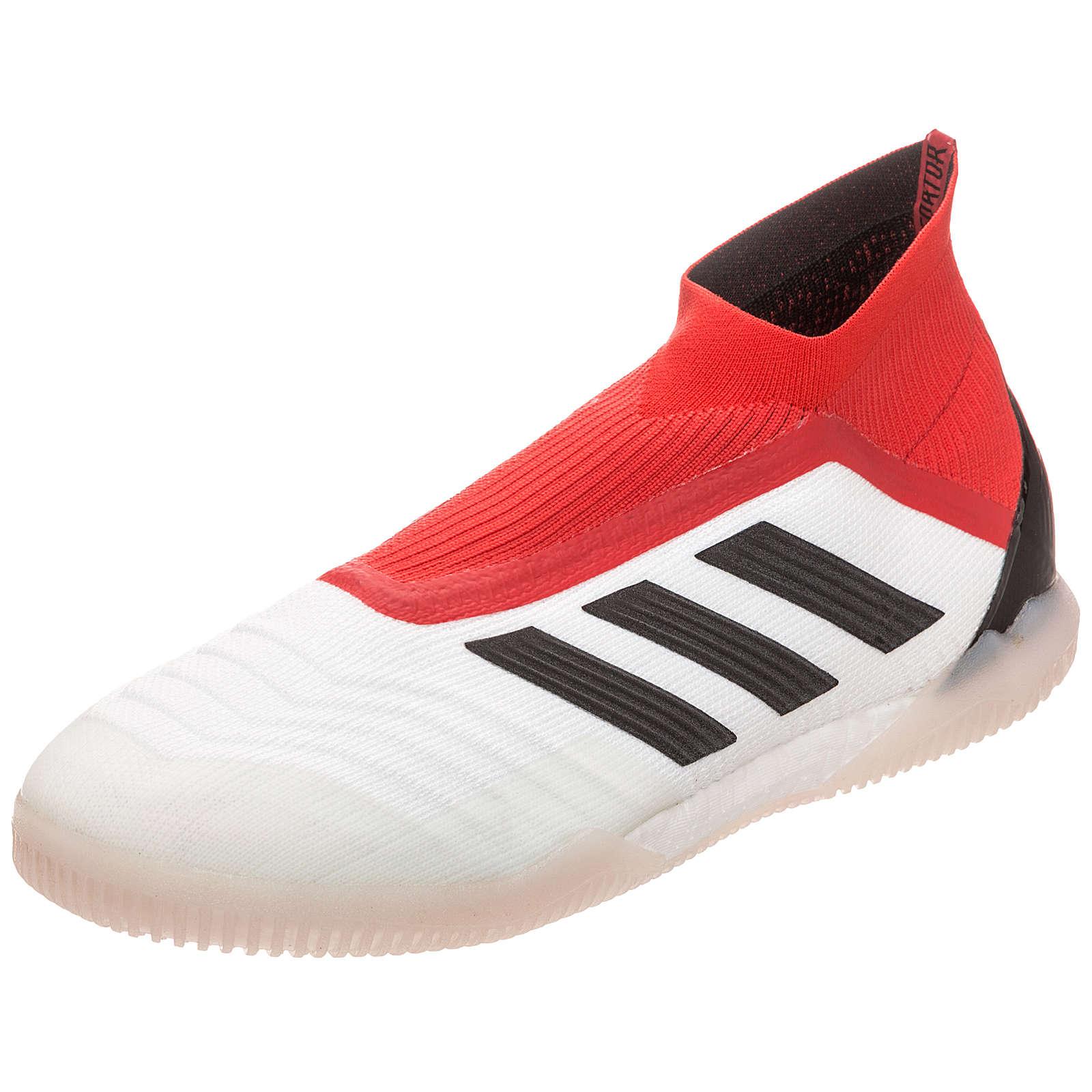 adidas Performance Predator Tango 18+ 360Control Indoor Fußballschuhe weiß-kombi Herren Gr. 43 1/3