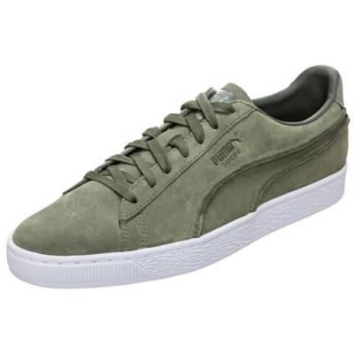 PUMA, Suede Classic Exposed Seams Sneakers Low, grün | mirapodo