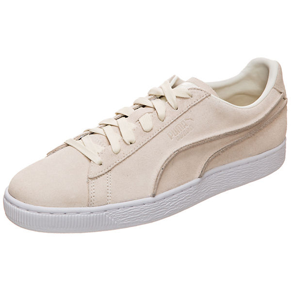 Suede Classic Exposed Seams Sneaker Sneakers Low