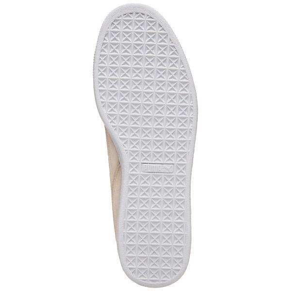 Sneakers Suede PUMA beige Classic Low Exposed Seams IqKxddwOpg