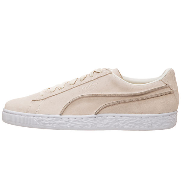 Classic Seams Suede Sneakers beige PUMA Low Exposed 5qOwn8