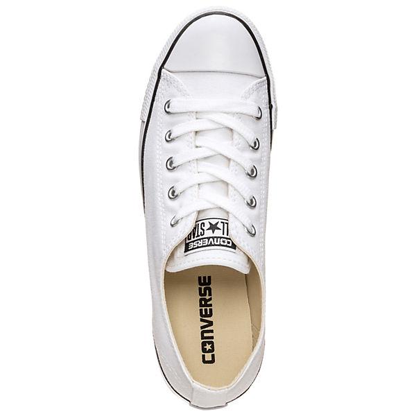 CONVERSE Chuck Taylor All Star Dainty OX Gute Sneakers Low weiß  Gute OX Qualität beliebte Schuhe 38eded