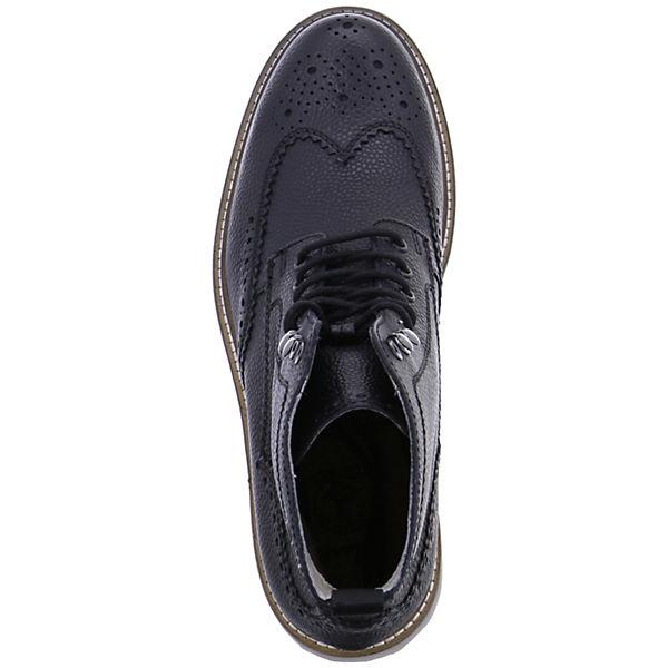 Clarks, MONMART RISE Schnürstiefeletten, schwarz Schuhe  Gute Qualität beliebte Schuhe schwarz 2ffb89