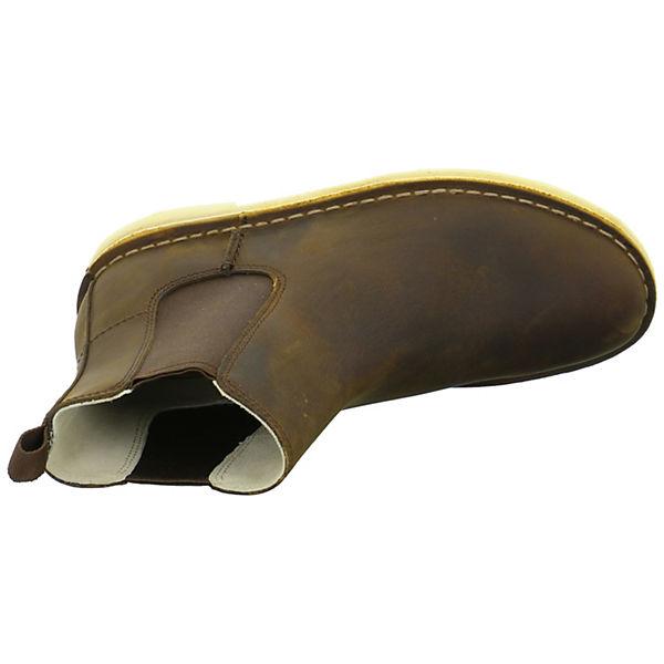 Clarks Desert Peak Chelsea Boots braun  Gute Qualität beliebte Schuhe