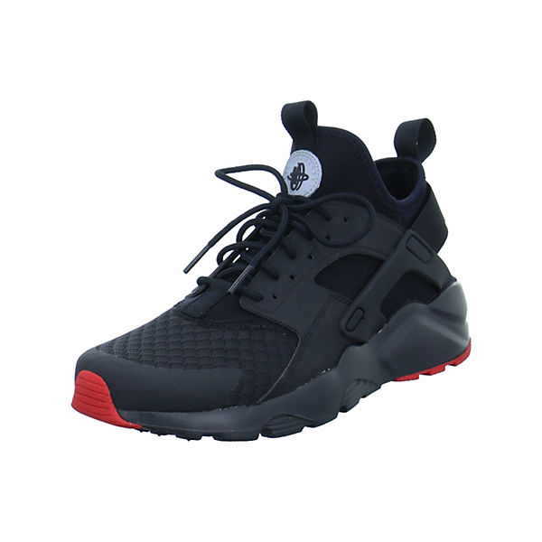 Low NIKE Ultra Run Sneakers Huarache schwarz UxRf8wPTq