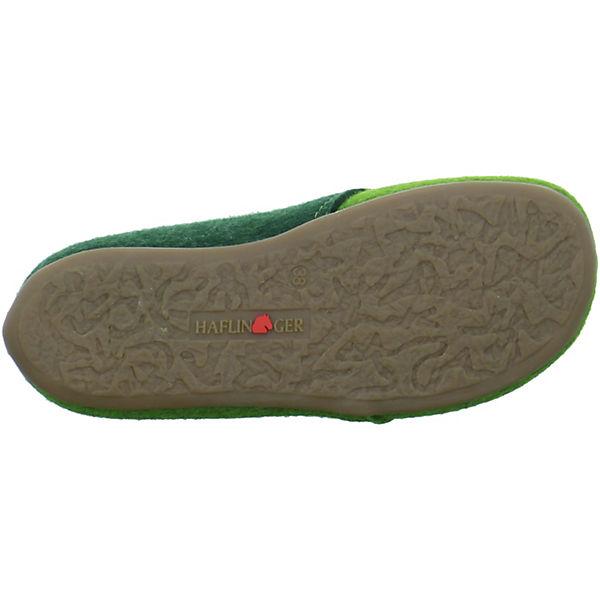 HAFLINGER, Everest Lars Geschlossene Qualität Hausschuhe, grün  Gute Qualität Geschlossene beliebte Schuhe 00ed7b