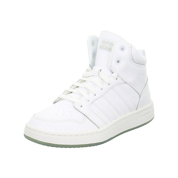 Cloudfoam adidas Super Hoops Mid Sport Inspired High weiß Sneakers UwwpEqS4x