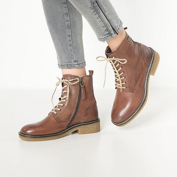 camel active Palm 71 Schnürstiefeletten braun  Gute Qualität beliebte Schuhe