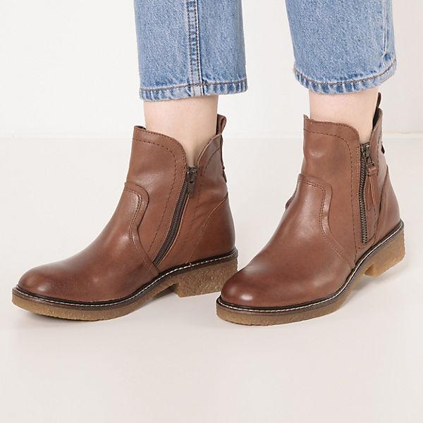camel active, Palm 73 Biker Boots, braun  Gute Qualität beliebte Schuhe