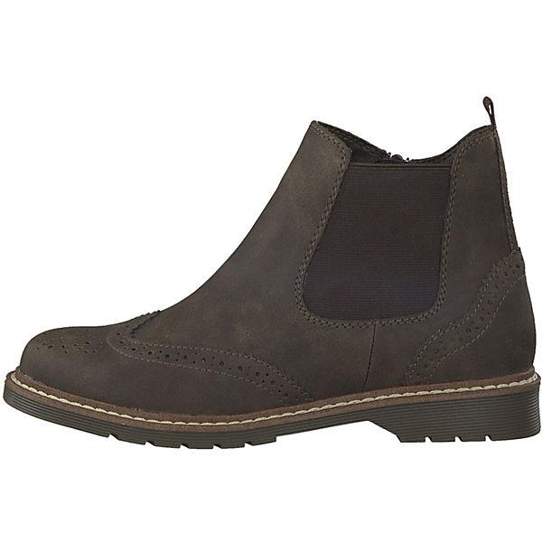 s.Oliver, Chelsea Boots, mokka mokka Boots,   d7c907