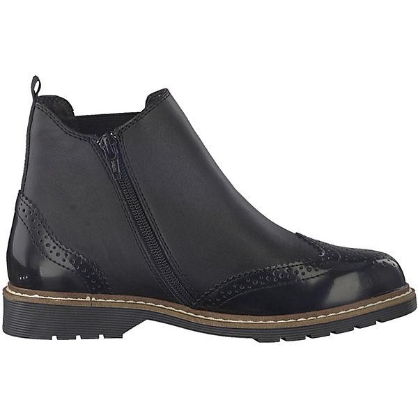 s.Oliver, Chelsea Chelsea s.Oliver, Boots, schwarz   5d9eeb