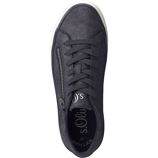 Low dunkelblau s s Oliver Sneakers Oliver wzXqI7dx7