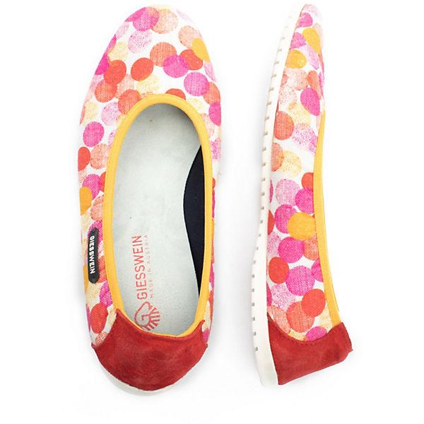 Giesswein, Dikat Faltbare Ballerinas, beliebte rot  Gute Qualität beliebte Ballerinas, Schuhe 6556ef