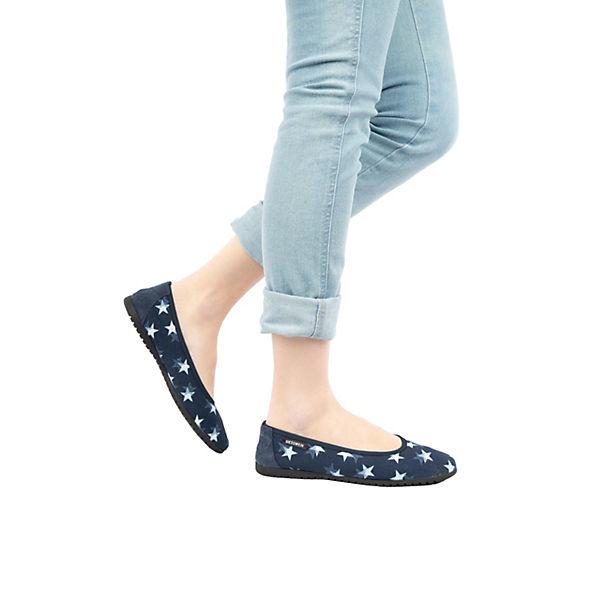 Giesswein, Dornbach Faltbare Ballerinas, dunkelblau  Gute Qualität beliebte Schuhe