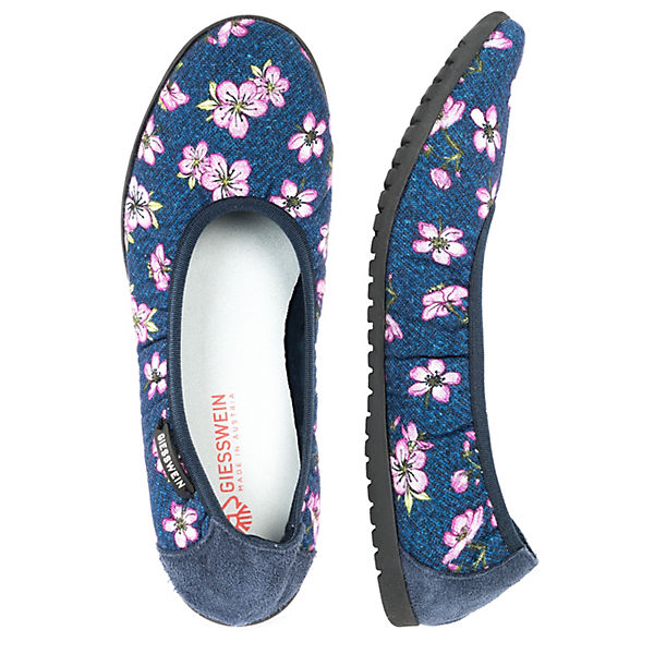 Giesswein Dobein Faltbare Ballerinas blue beliebte denim  Gute Qualität beliebte blue Schuhe 01548c