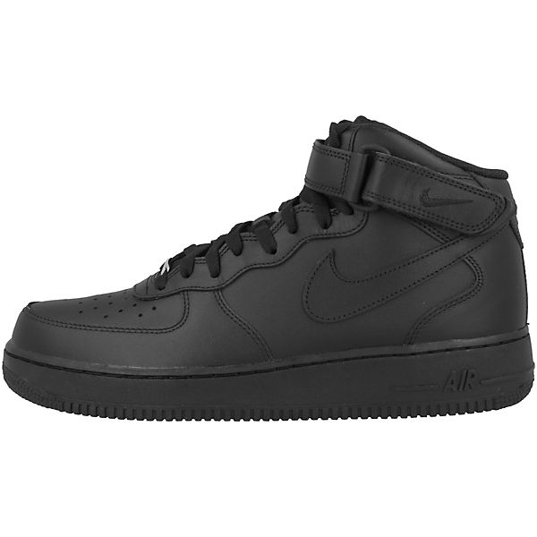 Nike Sportswear, Air Force 1 MID '07 Sneakers Qualität High, schwarz  Gute Qualität Sneakers beliebte Schuhe 838340