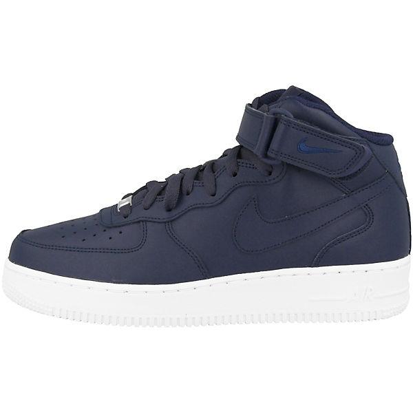 Nike Sportswear Air Force 1 MID '07 Sneakers High blau  Gute Qualität beliebte Schuhe