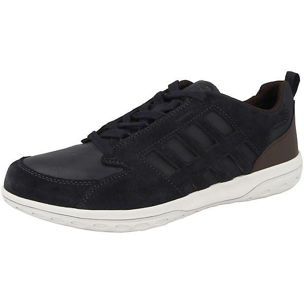 U Low Blau Geox Sneakers Mansel A yvO8mNn0w